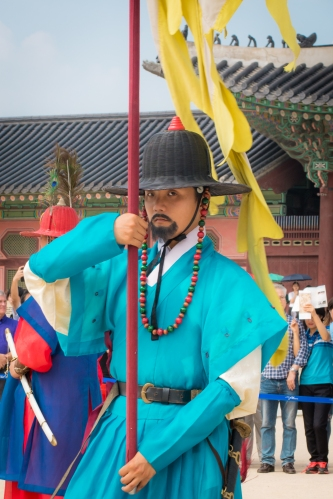 Seoul, Korea, Palace, Guard, Travel Photography, Culture, Asia