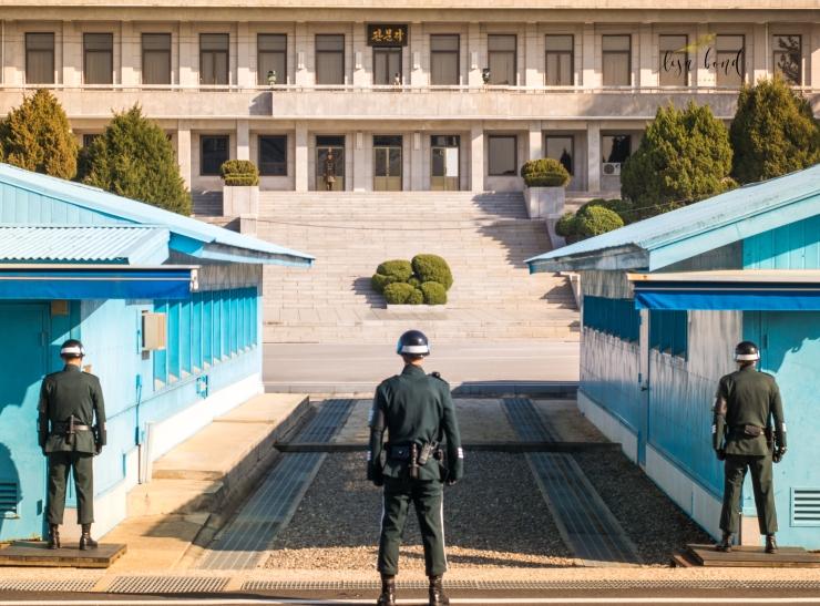 Korea, DMZ, Korea border