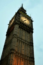 Big Ben, London, England, clock