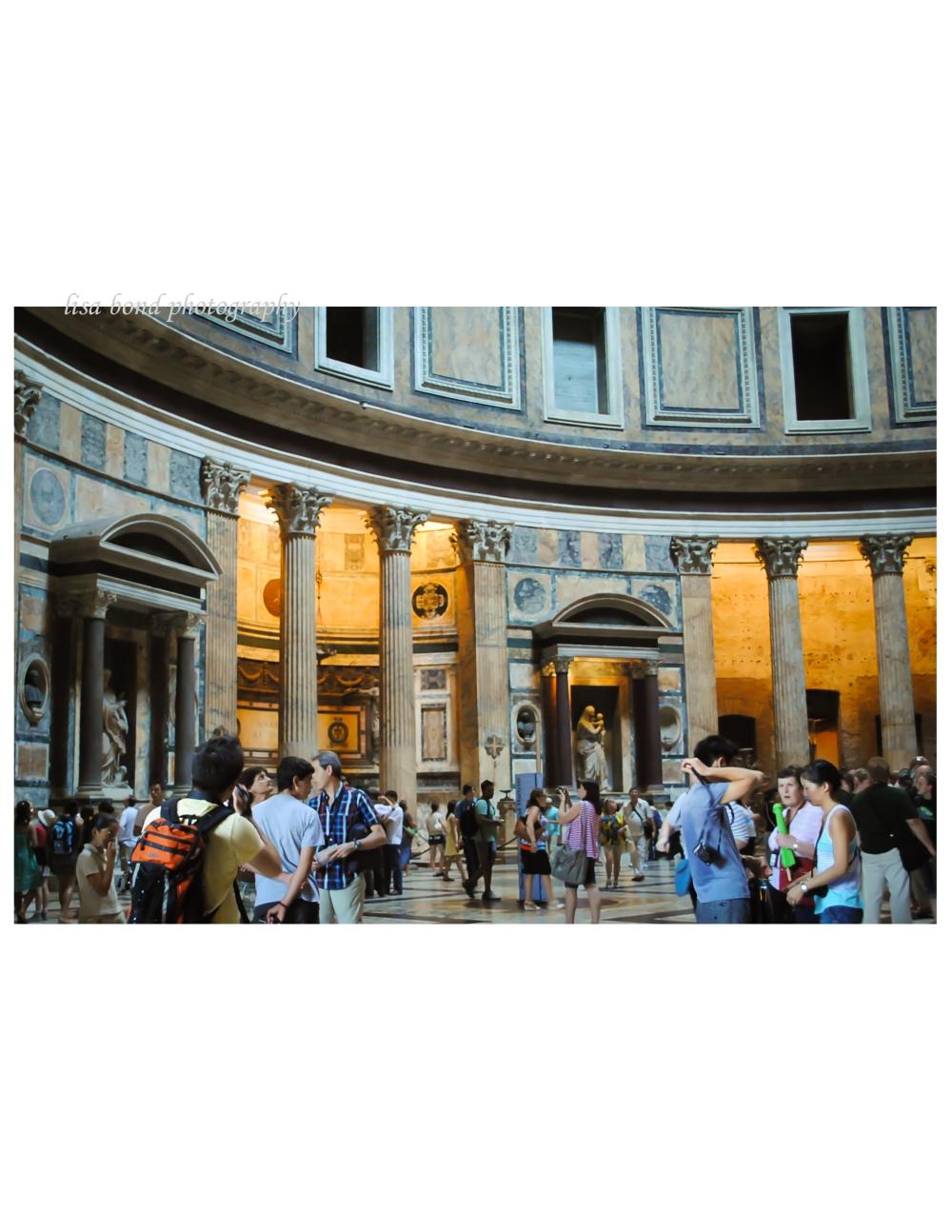 #Italy, #Pantheon, #architecture