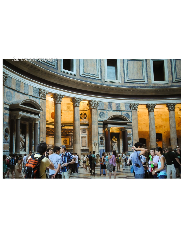 #Italy, #Pantheon, #architecture