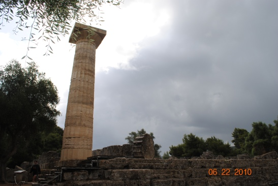 #Greece, #Olympia, #Katakalon, #ancient, #ruins, #