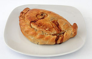 #pasty, #Cornish, #England, #Cornwall, #meat pasty