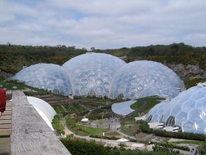 Eden Project, Biomes, Cornwall, England