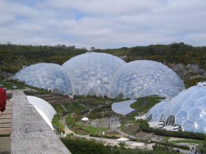 #Biomes, #Penzance, #Cornwall, #England, #eco-friendly, #Eden Project, #holiday, #adventure, #St. Austell, #environmental
