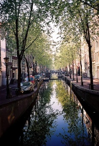 Amsterdam, water streets, Netherlands, house boats