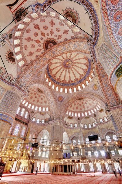 #Blue Mosque, #Istanbul, #Turkey, #temple #Asia