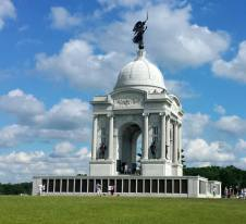 Gettysburg memorial, history, Independence, Army, battle