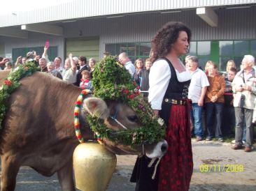 bondgirlphotos, Bavaria, festival, Germany, cattle drive, blumen, dirndl, Viescheid