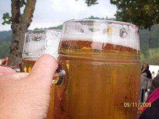 travel photographer, bondgirlphotos, Cattle drive, beer, Bavaria, Germany, festival, cows, Prost, beer