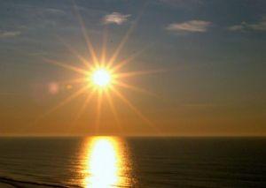 Sunrise, beach, morning, Myrtle Beach, South Carolina, Atlantic Coast