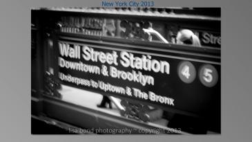 #Wall Street Station, NYC, #Manhattan