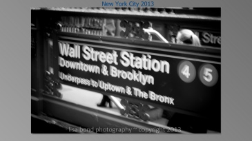 #Wall Street Station, NYC, #Manhattan