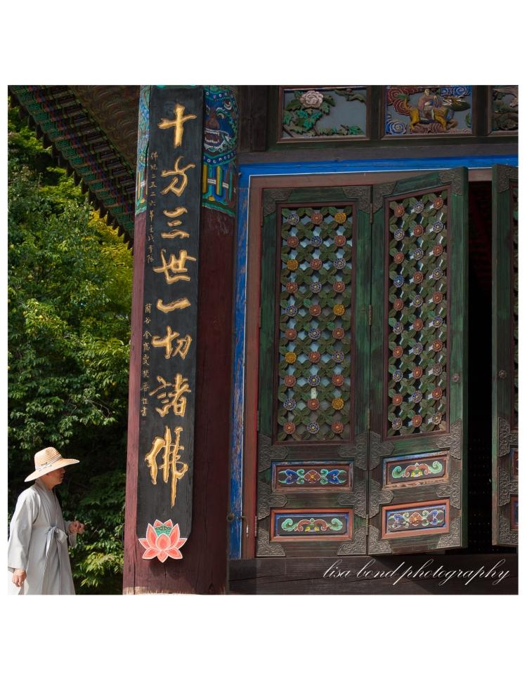 Bongeunsa, temple, prayers, monk