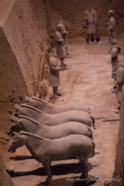 terracotta soldiers, warriors, Xian, China, Asia