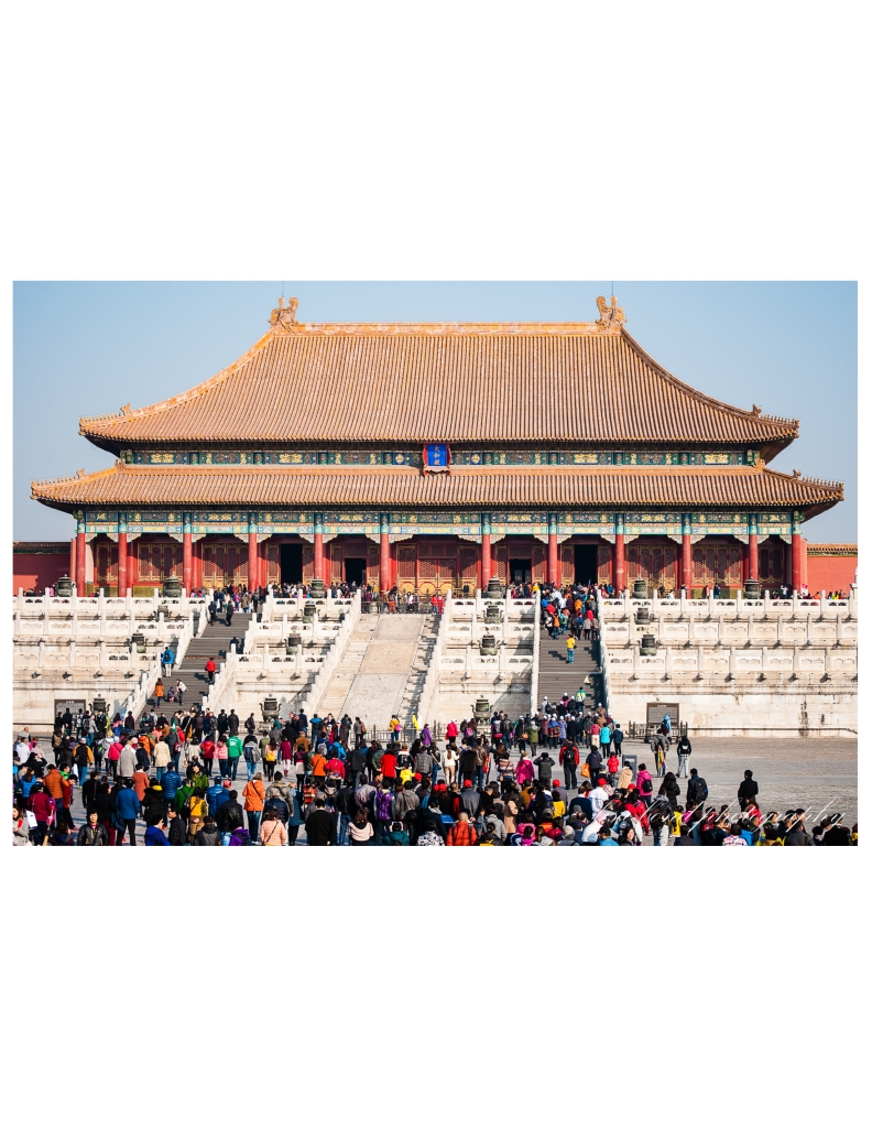 Forbidden City, Beijing, China, history