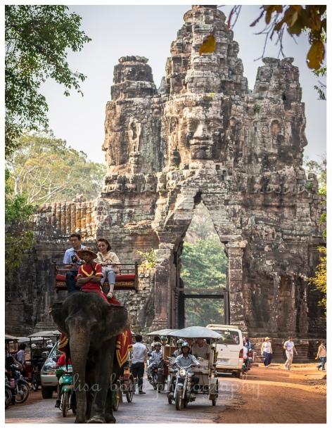 Cambodia, UNESCO, Angkor Thom, architecture, Siem Reap