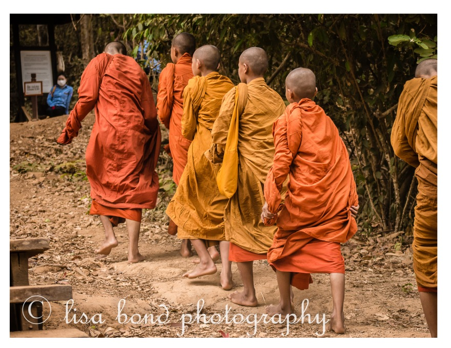 #Angkor #Cambodia #Siem Reap #PhnomBakheng #monks #Buddhist, Seoul photographer, lisa bond photography