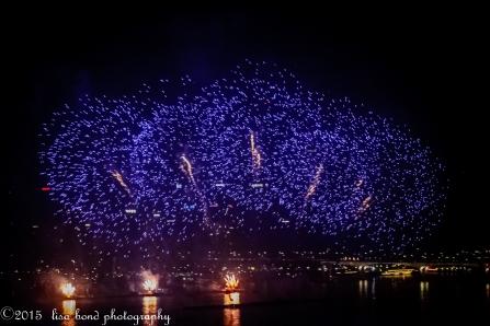 Liberation, Seoul, Korea, Fireworks, lisa bond photography, Seoul photographer