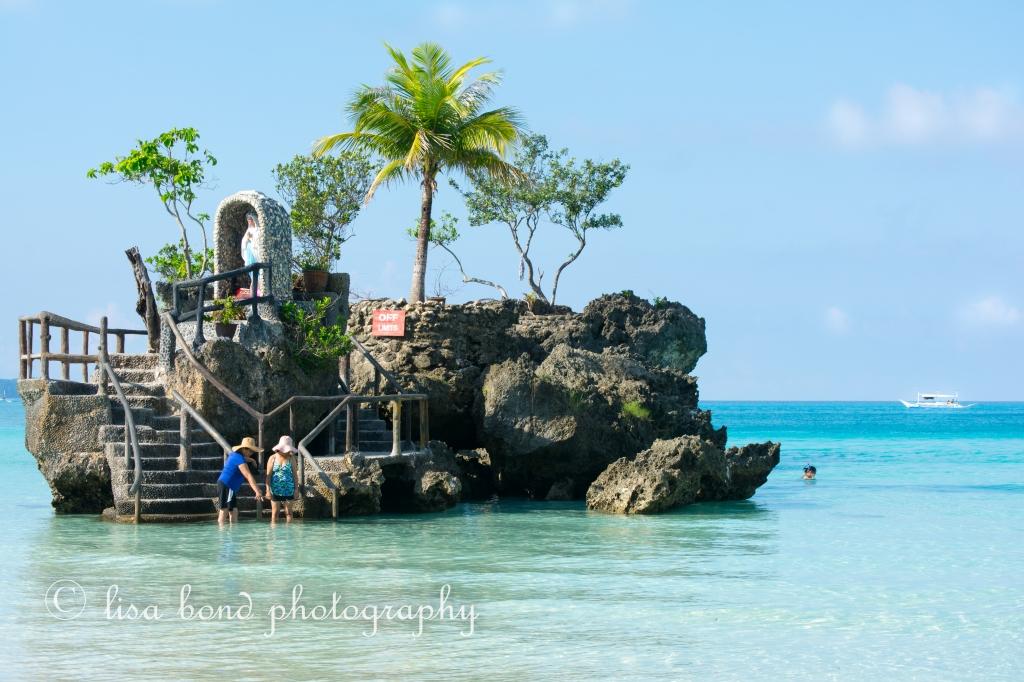 boracay, philippines, willy's rock