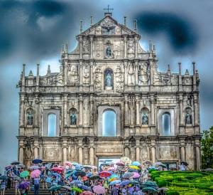 Macau, St Paul's, Ruins