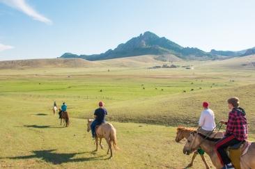 Terelj, Mongolia, National Park, horseback riding