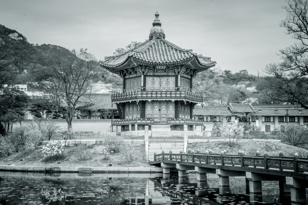 king's garden, palace, seoul, korea