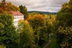 germany, rottweiller, medieval, autumn