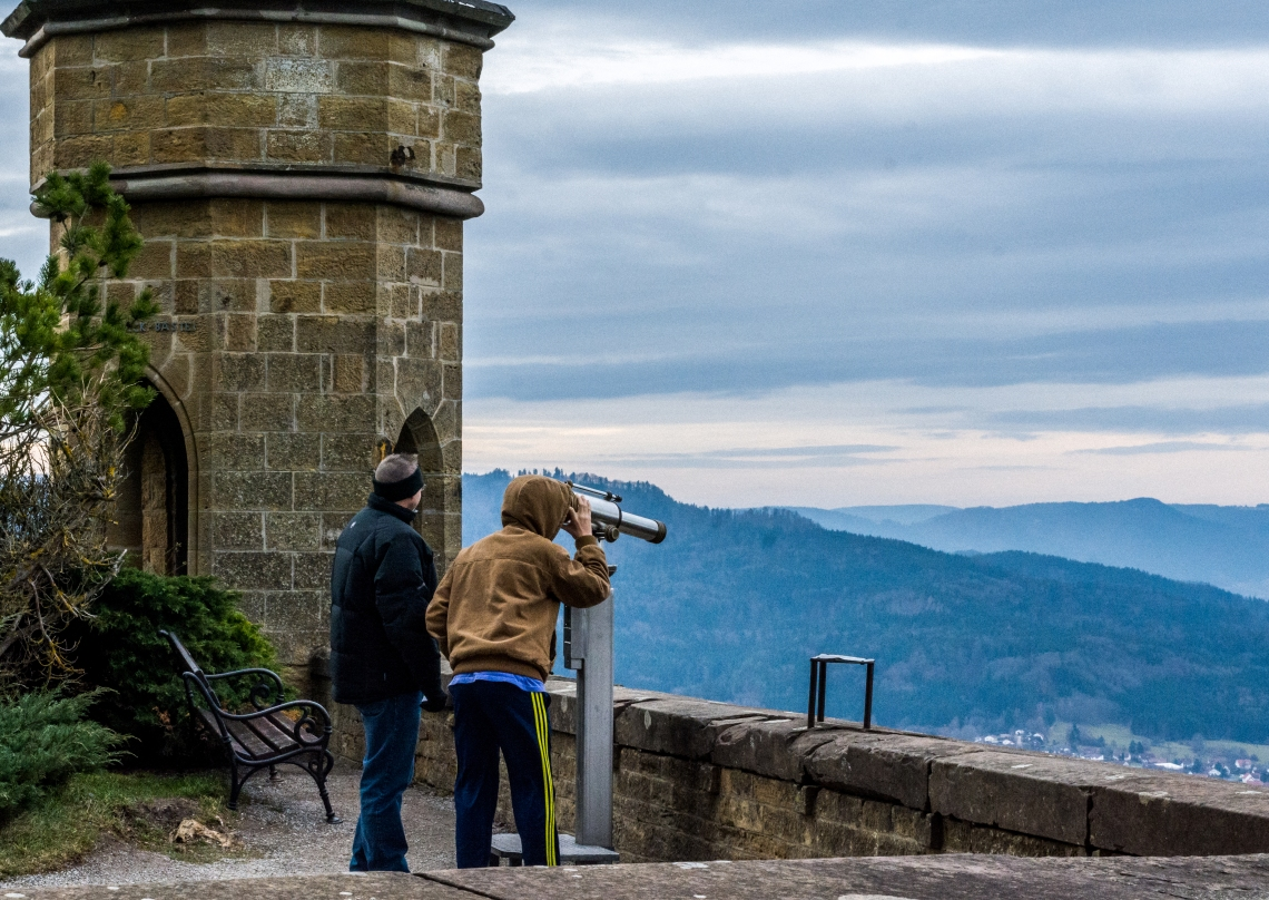 Hohenzollern, Vista, panoramic