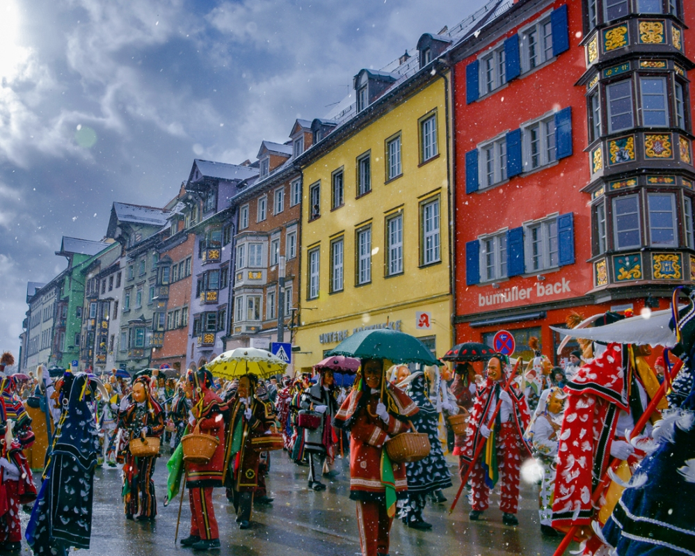 Rottweil, Deutschland, Fasnet, Carnival