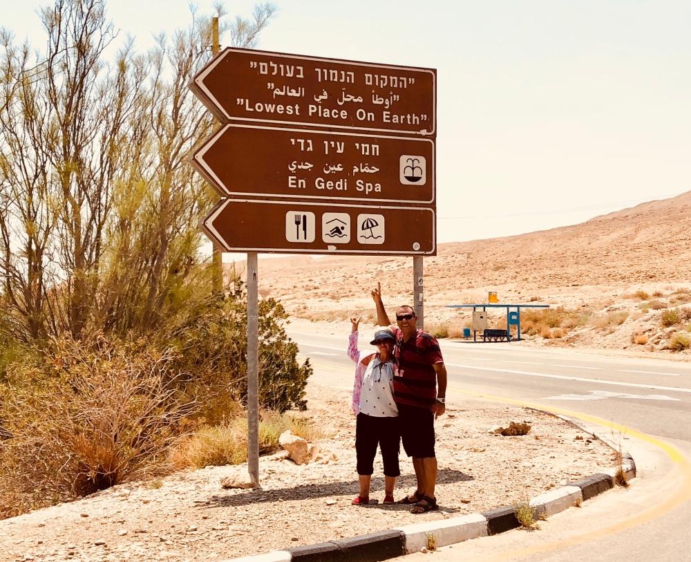 Dead Sea, Lowest Place on Earth, Israel